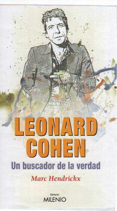 Leonard Cohen cover book in spanish 2008